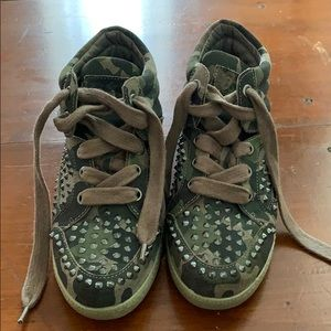 8f9f61728a67c Ash Shoes | Guepard Bis Womens Wedge Sneaker Bistro Multi | Poshmark